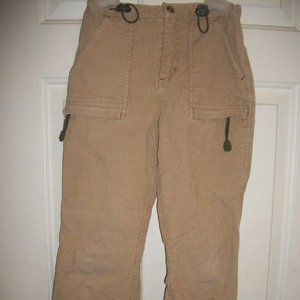 Sun Valley Beige Corduroy Pants Size 7